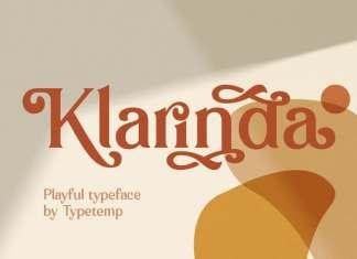 Klarinda Serif Font