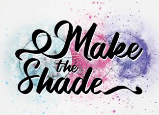Make The Shade Script Font