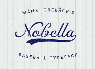 Nobella Calligraphy Font