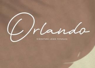 Orlando Signature Script Font