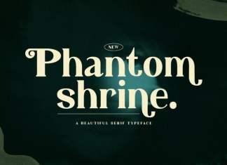 Phantom Shrine Serif Font