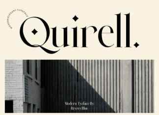 Quirell Serif Font