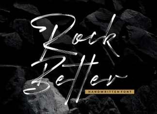 Rock Better Brush Font