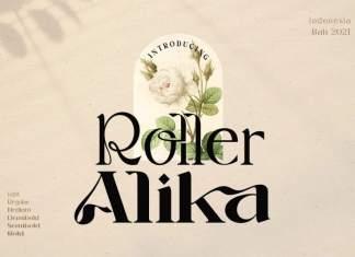 Roller Alika Serif Font