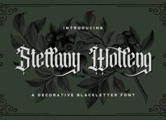 Steffany Wolfeng Display Font