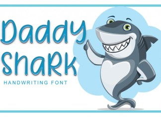 Daddy Shark Display Font