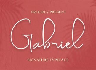 Gabriel Script Font
