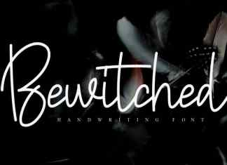 Bewitched Handwritten Font