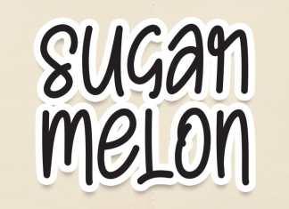 Sugar Melon Display Font
