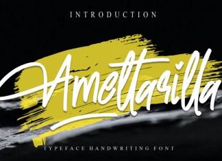 Amettarilla Handwritten Font
