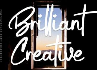 Brilliant Creative Script Font