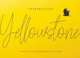 Yellowstone Handwritten Font