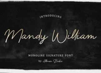 Mandy William Handwritten Font