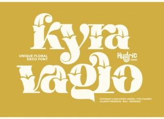 Kyra Vaglo Display Font