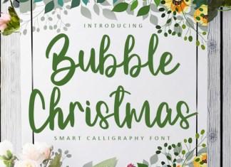 Bubbke Christmas Script Font