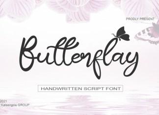 Butterflay Script Font