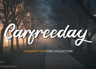Carfreeday Script Font