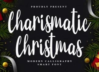 Charismatic Christmas Script Font