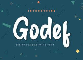 Godef Display Font