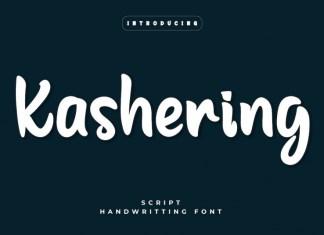 Kashering Display Font