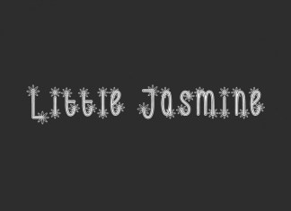 Little Jasmine Display Font