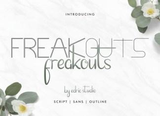 Freakouts Font Duo