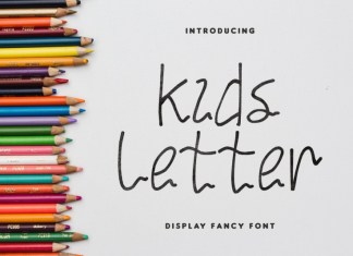 Kids Letter Handwritten Font
