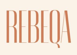 Rebeqa Sans Serif Font
