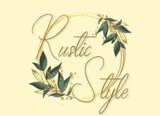Rustic Style Script Font