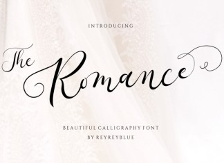 The Romance Calligraphy Font