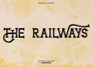 The Railways Display Font