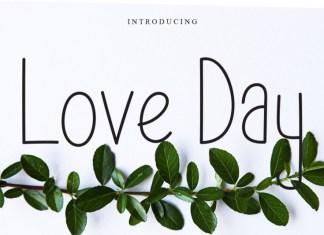 Love Day Handwritten Font
