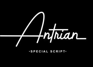 Antrian Handwritten Font