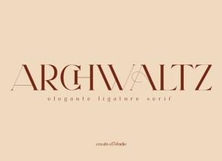 Archwaltz Serif Font