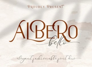 Bello Calligraphy Font