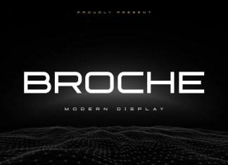 Broche Sans Serif Font