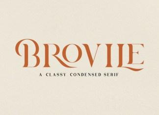 Brovile Serif Font