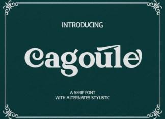 Cagoule Serif Font