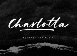 Charlotta Brush Font