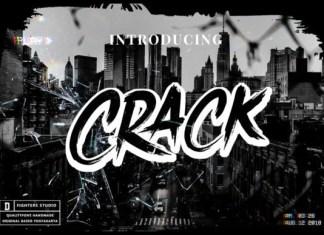 Crack Brush Font