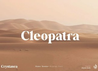 Crystasea Serif Font