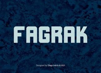 Fagrak Sans Serif Font