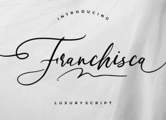 Franchisca Script Font