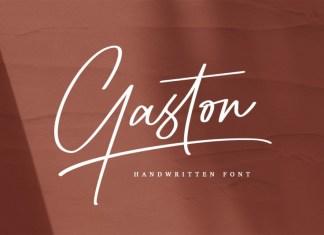 Gaston Script Font