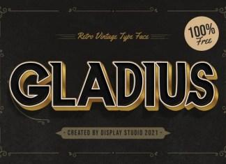 Gladius Display Font