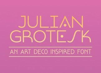 Julian Grotesk Sans Serif Font