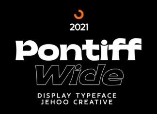 Pontiff Wide Serif Font