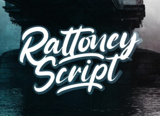 Rattoney Bold Script Font