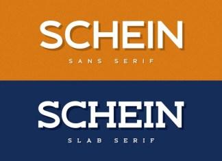 Schein Sans & Slab Font