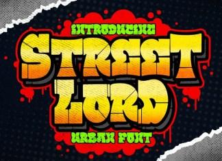 Street Lord Display Font